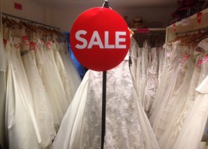 for extra savings we have added an extra rail for more reduced wedding dress samples!