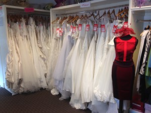 Wedding Dress Sale Sample Pieces